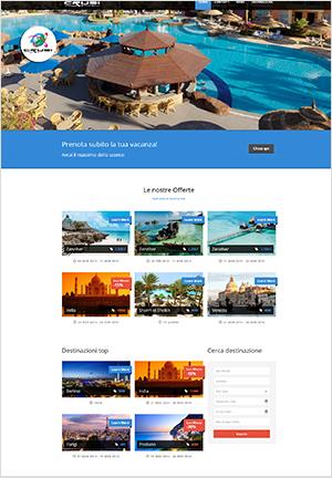 sito web per agenzia viaggi
