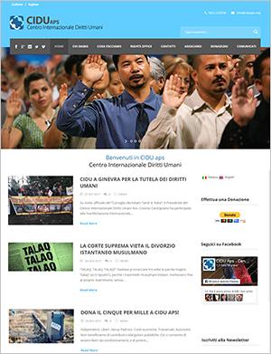 sito web per associazione Lecce