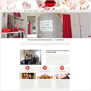 agenzia sito web per centro benessere Lecce