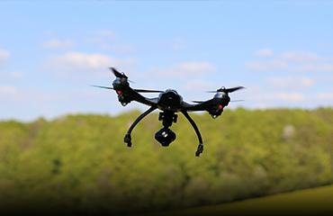 riprese con il drone