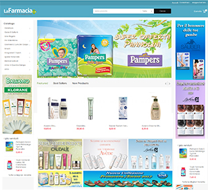 sito web per farmacia Lecce