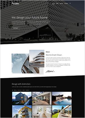 offerta sito web per architetto Lecce