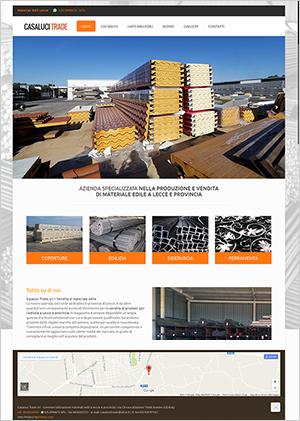 sito web per aziendale Lecce