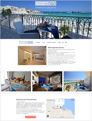 offerta sito web per struttura ricettiva -Lecce